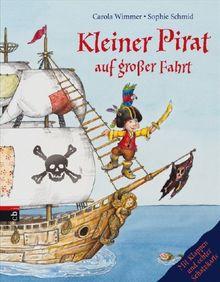 Kleiner Pirat auf großer Fahrt: Mit Klappen und echter Schatzkarte