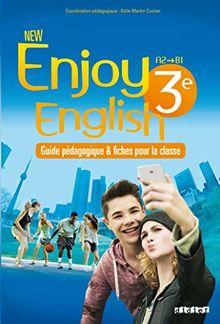 New Enjoy English 3e - Guide pédagogique - version papier