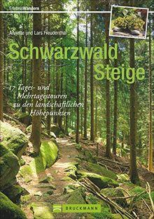 Wanderführer Schwarzwald: 17 Tages- und Mehrtagestouren zu den landschaftlichen Höhepunkten von Süd- und Nordschwarzwald. Mit Tagessteigen und Mehrtagestouren.