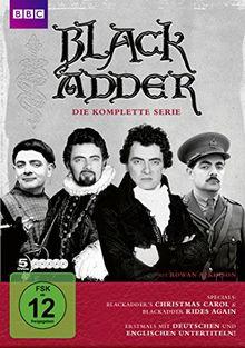 Blackadder Komplettbox [5 DVDs]
