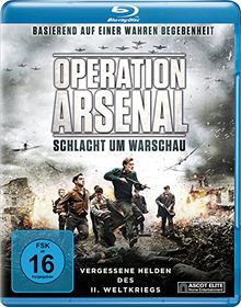 Operation Arsenal - Schlacht um Warschau [Blu-ray]