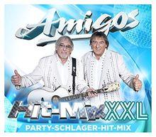 """Hit-Mix XXL - Party Schlager Hit-Mix 2CDs (inkl. Hit-Mix """"Du bist der helle Wahnsinn"""", """"Sehnsucht, die wie Feuer brennt"""", """"Weißt du,w as du für mich bist"""" & Party-Versionen)"""