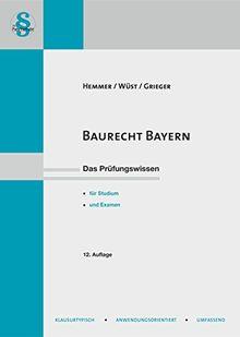 Baurecht Bayern (Skripten - Öffentliches Recht)