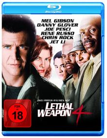 Lethal Weapon 4 [Blu-ray]