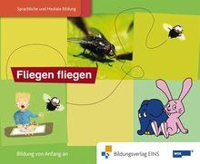 """Paket 1 """"Die Welt ist elefantastisch Sprachförderung mit dem Elefanten"""" mit den Themen: Fliegen fliegen, Wasser trinken und Huhn&Ei aus dem ... mit dem Elefanten Bilderbuch Fliegen fliegen"""