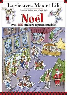 Noël avec 100 stickers repositionnables