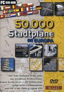 50.000 Stadtpläne Europa (DVD-ROM)