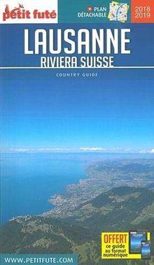 Petit Futé Lausanne - Riviera suisse (1Plan détachable)