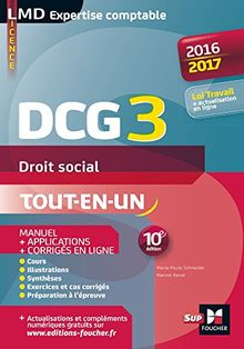 Droit social DCG 3 : Manuel & applications
