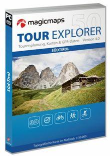 Tour Explorer Südtirol 3D 1 : 50 000. Version 4.0; Win Vista/XP/2000