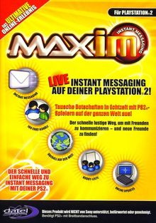 Playstation 2 - MAX Instand Messaging