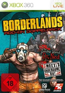 """Borderlands - Add-On Doublepack: """"The Zombie Island of Dr. Ned"""" + """"Mad Moxxi's Underdome Riot"""""""