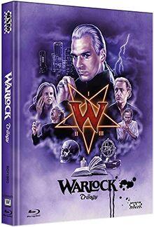 Warlock Trilogy [3 Blu-ray] - uncut - auf 250 Stück limitiertes Mediabook Cover D [Limited Edition]