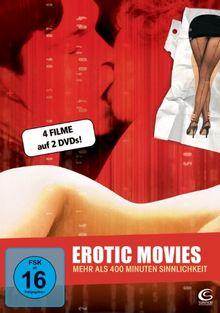 Erotic Movies - Secretary - Teknolust - Investigating Sex - I-See-You.com (2-Disc Set mit 4 Filmen)