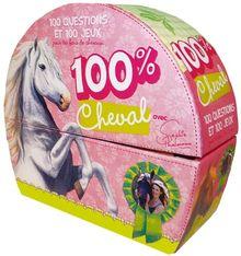 100% cheval : 100 questions et 100 jeux pour les fans de chevaux