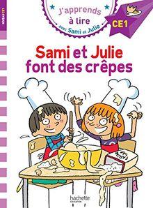 Sami et Julie fait des crepes