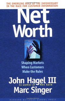 Net Worth: Shaping Markets When Customers Make the Rules: Coming Battle for Customer Information