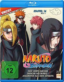 Naruto Shippuden - Staffel 14 - Box 1 (Episoden 516-528, Uncut) [3 Disc Set](Blu-ray)