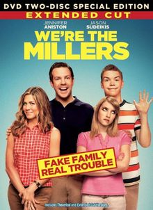 WE'RE THE MILLER 2-Disc EXTENDED CUT Special Edition DVD Set -- Jennifer Aniston & Jason Sudeikis