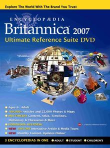 Encyclopaedia Britannica 2007 Ultimate Reference Suite (PC/Mac)