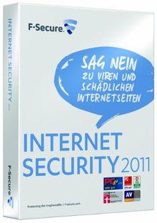 F-Secure Internet Security 2011 - 1 User - 12 Monate