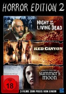 Horror Edition 2 (Night Of The Living Dead /Red Canyon / Summer's Moon) [Collector's Edition]