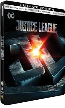 Justice league 4k ultra hd [Blu-ray]