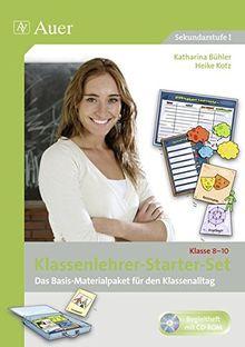Klassenlehrer-Starter-Set Klasse 8-10: Das Basis-Materialpaket für den Klassenalltag