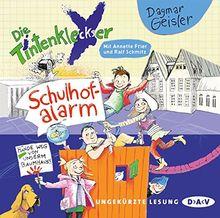 Die Tintenkleckser - Teil 2: Schulhof-Alarm: Ungekürzte Lesung mit Ralf Schmitz und Annette Frier (1 CD)