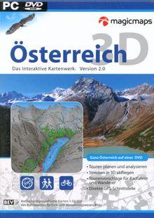 Österreich 3D: Interaktives Kartenwerk (DVD-ROM)