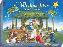 Weihnachts-Vorlesekarten