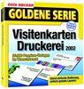 Goldene Serie. Visitenkarten Druckerei 2002. CD- ROM für Windows ab 95C. 30.000 Premium- Vorlagen im Wunschformat