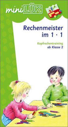 miniLÜK: Rechenmeister im Einmaleins: Kopfrechentraining ab Klasse 2