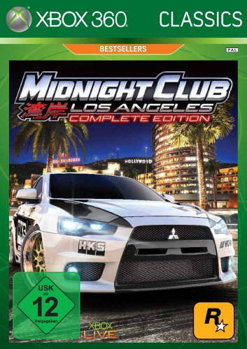 midnight club los angeles complete edition von rockstar. Black Bedroom Furniture Sets. Home Design Ideas