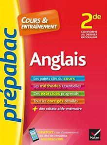 Prepabac Cours Et Entrainement: 2de - Anglais