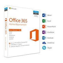 Microsoft Office 365 Home multilingual | 5 Geräte | 1 Jahresabonnement | PC/Mac | Download
