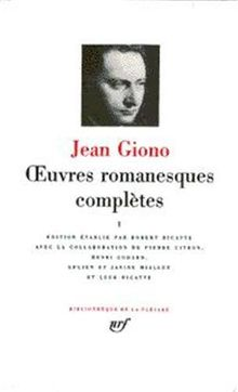 Jean Giono : Oeuvres romanesques complètes, tome II