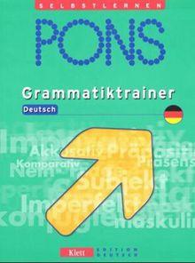 PONS Grammatiktrainer Deutsch
