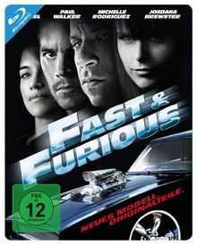 Fast & Furious - Neues Modell. Originalteile. - Steelbook [Blu-ray]
