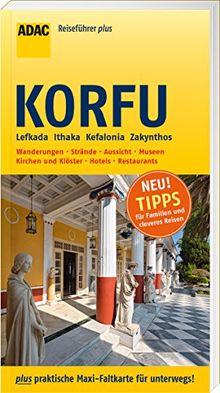 ADAC Reiseführer plus Korfu: mit Maxi-Faltkarte zum Herausnehmen