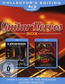 Guitar Heroes Box: Legends/A Concert by the Lake [Blu-ray] [Collector's Edition]