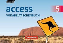 English G Access - Allgemeine Ausgabe / Band 5: 9. Schuljahr - Vokabeltaschenbuch