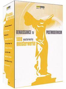 1000 Meisterwerke - Renaissance to Postmodernism [10 DVDs]