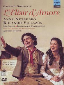 Donizetti: L'elisir d'amore [DVD]