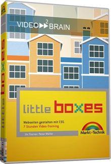 Video2Brain Little Boxes - Webseiten gestalten mit CSS - Video-Training DVD