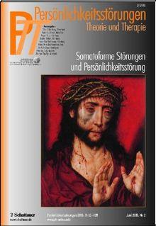 Persönlichkeitsstörungen PTT: Somatoforme Störungen und Persönlichkeitsstörungen: 34