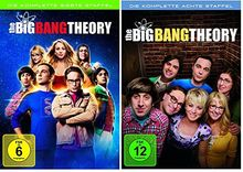 The Big Bang Theory Staffel/Season 7+8 * DVD Set