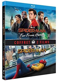 Coffret spider-man 2 films : homecoming ; far from home [Blu-ray] [FR Import]