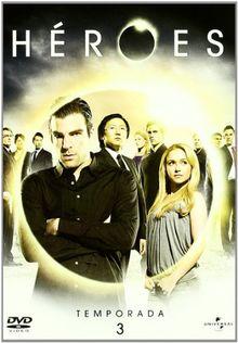 Heroes (3º Temporada) (Import Dvd) (2009) Hayden Panettiere; Jack Coleman; Jan