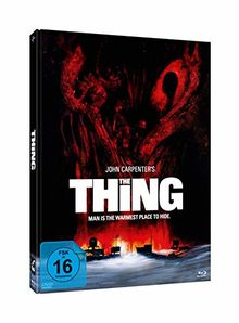 John Carpenter's THE THING - 3-Disc-Mediabook Edition #Edwards - Blu-ray